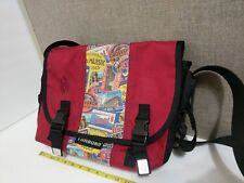 TIMBUK2  Unisex Small Messenger Cross Body Bag Paris Graphics Red 14X 11