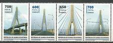 Equatorial GUINEA ECUATORIAL Edifil # 494/497 ** MNH Puente Bolondo Bridge