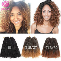 2pcs/set 12'' Afro Curly Twist Crochet Braids MALI BOB Synthetic Hair Extensions