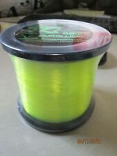 *New* Catch The Fever Slime Line 20# 1500 yd Mono Fishing Line Green 1/2lb Spool