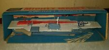 VINTAGE REMCO MIGHTY MAGEE NAVY AIRCRAFT CARRIER SHIP TOY 1965