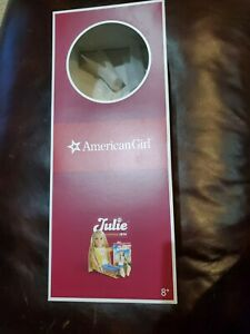 American Girl Julie New Doll Box Only Empty