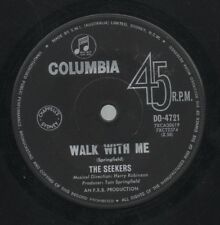 """THE SEEKERS    Rare 1964 Aust Only 7"""" Mint OOP Folk Pop Single """"Walk With Me"""""""
