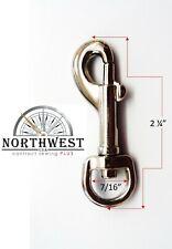 Swivel Snap Barrel Hook for 3/8 inch webbing Pet Leash Nickle 25 per lot ~Nw8071