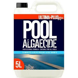Ultima Hot Tub Algae Remover Spa Solution Pool Cleaner Prevents Green Algae 5L