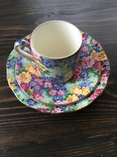 Royal Winton Made In England Julia 3 Piece Cup & Saucers Set China