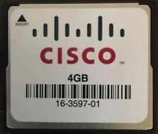 Cisco 4GB CompactFlash CF Memory Card (16-3597-01)