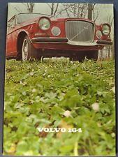 1969 Volvo 164 Catalog Sales Brochure Excellent Original 69