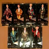 NEW & SEALED - BTS Bangtan Boys - Mattel Fashion Dolls - Complete Set Of 7.