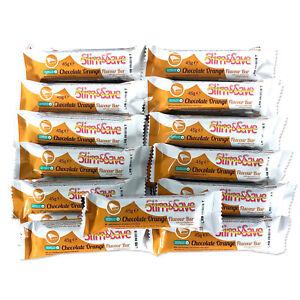 25 Dark Chocolate Orange LowCarb HighProtein MRP VLCD Diet Bars Slim &And Save ®