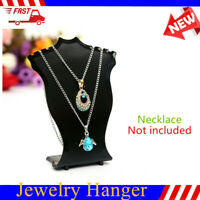 Necklace Jewelry Display Bust Pendant Show Case Mannequin Earring Holder F0X5