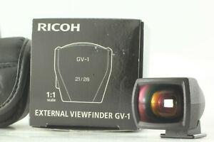 [NEAR MINT IN BOX] Ricoh GV-1 View Finder 28mm 21mm for GR Digital Camera Japan