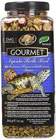 Zoo Med Gourmet Aquatic Turtle Pellets Blended Dried Shrimp Mealworms Food 11 oz
