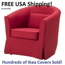 Ikea EKTORP TULLSTA Chair Armchair Cover Slipcover Nordvalla Red NEW! SEALED!