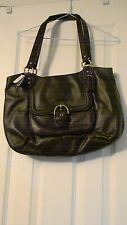 NWT COACH Handbag Leather Campbell Belle Mahogany Carryall $418 MSRP F24961