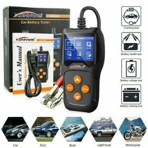 12V Car Battery Tester Digital Auto Vehicle Battery Analyzer Tool Durable AU