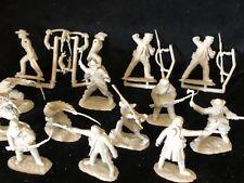CONTE ALAMO CROCKETT DEFENDERS SET #1 pebble Frontiersmen CIVIL WAR 1/32 16FIGS