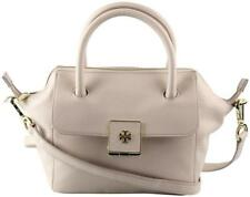 Tory Burch Creamy Almond Leather Clara Mini Shoulder Bag