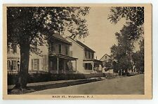 Main Street in Wrightstown NJ OLD