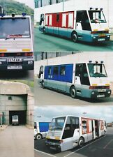 """30 - 6"""" x 4"""" Colour Photos of CHANNEL TUNNEL FIRE and EMERGENCY VEHICLES"""