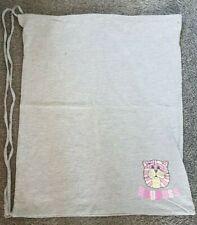 "BAGPUSS - Grey Marl Drawstring Laundry Bag 16"" x 19"" UNUSED"