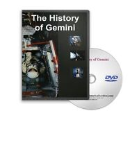 NASA Gemini Space Mission History & Neil Armstrong DVD - A263