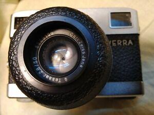 Vintage rangefinder camera WERRA Matic with Tessar 2.8/50mm