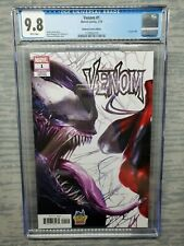 CGC Graded 9.8 Venom #1 Marvel Comics 2018 Midtown Comics Edition