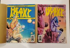 Heavy Metal Magazine 1983 12 High Grade Issues all w/ original mailing covers