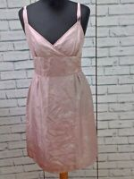 Quality Boxfresh Pink Silk  Spotted Dress  Size MExcellent Condition.