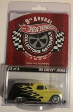 Hot Wheels 2009 Collectors Nationals '55 CHEVY PANEL * Super Fast Shipping * 19A