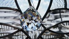 CRYSTAL SUNCATCHER BALL PRISM SPHERE W/TRIANGULAR FACETS, 40mm