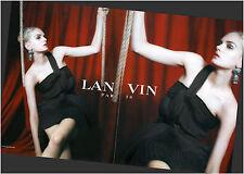 ▬► PUBLICITE ADVERTISING AD LANVIN mode 2 pages