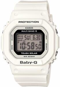 Casio Watch Baby Gee Radio Solar BGD-5000-7JF White