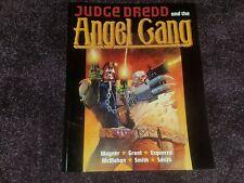 TITAN BOOKS - JUDGE DREDD THE COMPLETE ANGEL GANG TPB GRAPHIC NOVEL VF+ L@@K