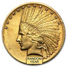 $10 Indian Gold Eagle Pre-33 Gold Coin - Random Year - Extra Fine - SKU #14241