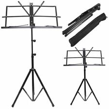 ValueWay Metal Adjustable Music Sheet Stand Holder & Carry  Bag