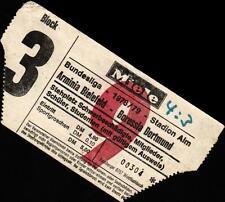 Ticket BL 78/79 DSC Arminia Bielefeld - Borussia Dortmund