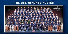 "TORONTO MAPLE LEAFS ""THE 100"" COMMEMORATIVE FRIDGE MAGNET 6.5' X 3.5"""