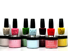 Opi Powder Perfection Dip Powder & Matching Nail Polish lacquer Choose Colors