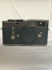 Leica M2 Film Camera in Custom Black Chrome finish, CLA'd