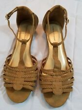 Predictions brown sandals size10W