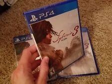 Syberia 3 (Sony PlayStation 4, PS4 2017) BRAND NEW FACTORY SEALED