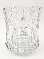 J.G. Durand French Crystal Vincennes Champagne Cooler Ice Bucket Heavy Stunning