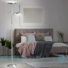 LED Steh-Leuchte DESIGN Decken-Fluter Stand Strahler Flexo Glas Lese Lampe WOFI