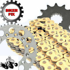 Suzuki LT250 R -N,P Quadracer 92-93 Heavy Duty Chain Sprocket Kit HDR Race GOLD