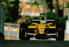 Giancarlo Fisichella Hand Signed B&H Jordan Ford Monaco Photo 12x8 3.