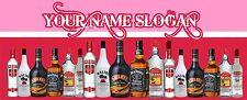 SPIRITS BAR RUNNER 3 - ADD YOUR NAME/ SLOGAN - PERSONALISED FREE