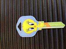 Tweety Bird  house keys  KW1  Kwikset New