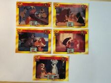 Disney Classics Disney Lady and the Tramp Australian Trading Card 90s Lot